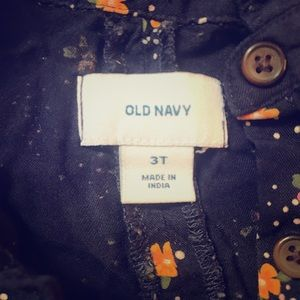 Old navy toddler tunic top.